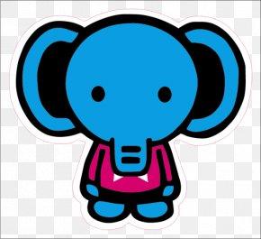 Elephant - A Bathing Ape Hoodie Elephant Sticker BAPE KIDS PNG