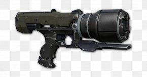 Weapon - Halo 4 Trigger Halo 3 Weapon Video Game PNG