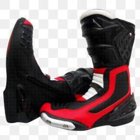Athletic Shoe Personal Protective Equipment - Footwear Shoe Black Boot Red PNG