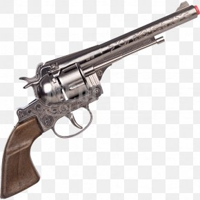 Westernstyle - Revolver Cap Gun Firearm Cowboy Colt Single Action Army PNG