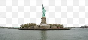Aloof Statue Of Liberty - Statue Of Liberty Landmark Monument Water Resources Waterway Gas & Wash PNG
