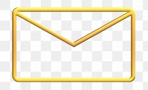 Triangle Mail Icon - Dashboard Icon Email Icon Letter Icon PNG
