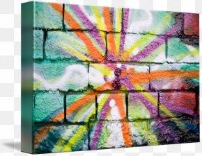 Color Graffiti - Modern Art Painting Window PNG