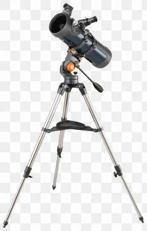 Brown Telescope - Reflecting Telescope Refracting Telescope Celestron Altazimuth Mount PNG