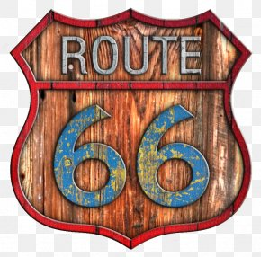 Route - U.S. Route 66 In New Mexico U.S. Route 66 In Illinois Wood PNG