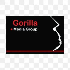 Gorilla Logo - Logo Brand Rectangle Font PNG
