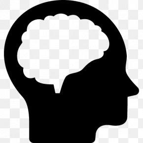 Brain Thinking - Brain Human Head Clip Art PNG