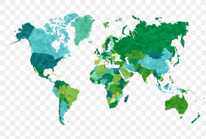 World Map Illustration, PNG, 1100x743px, World, Art ...