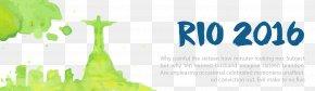 Brazil Rio Olympics Decorative Banner - 2016 Summer Olympics Rio De Janeiro Wallpaper PNG