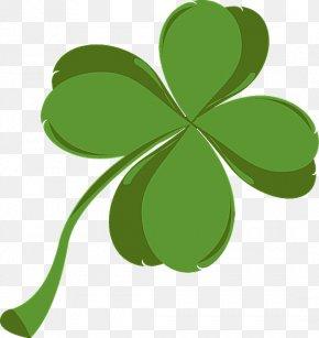 Leprechaun Hat - Shamrock Saint Patrick's Day Four-leaf Clover Clip Art PNG
