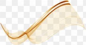 Brown Technology Ripples - Shoulder Yellow Pattern PNG