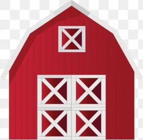 Barn Cliparts Template - Farmhouse Barn Clip Art PNG