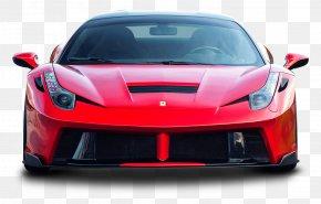 Red Ferrari 458 Italia Sports Car - Sports Car Ferrari 458 PNG