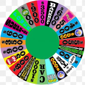 Wheel Of Fortune - Game Wheel Television PNG