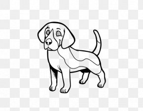 Puppy - Beagle Puppy St. Bernard Drawing Dog Breed PNG