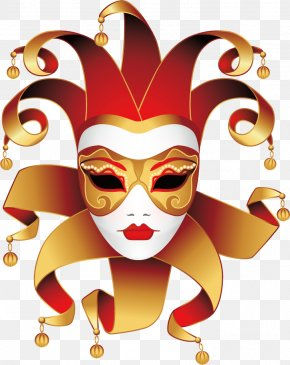 Carnival Masks And Dance - Mask Wedding Invitation Carnival Paper Disguise PNG