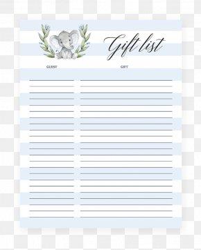 Baby Shower Diaper Raffle - Wedding Invitation Paper Baby Shower Gift Registry Letter PNG