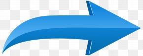 Arrow Left Blue Transparent Clip Art Image - Arrow Clip Art PNG