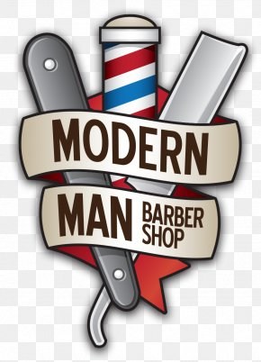 Barber Shop Artwork - Barber Modern Man Hairstyle Shaving Beauty Parlour PNG