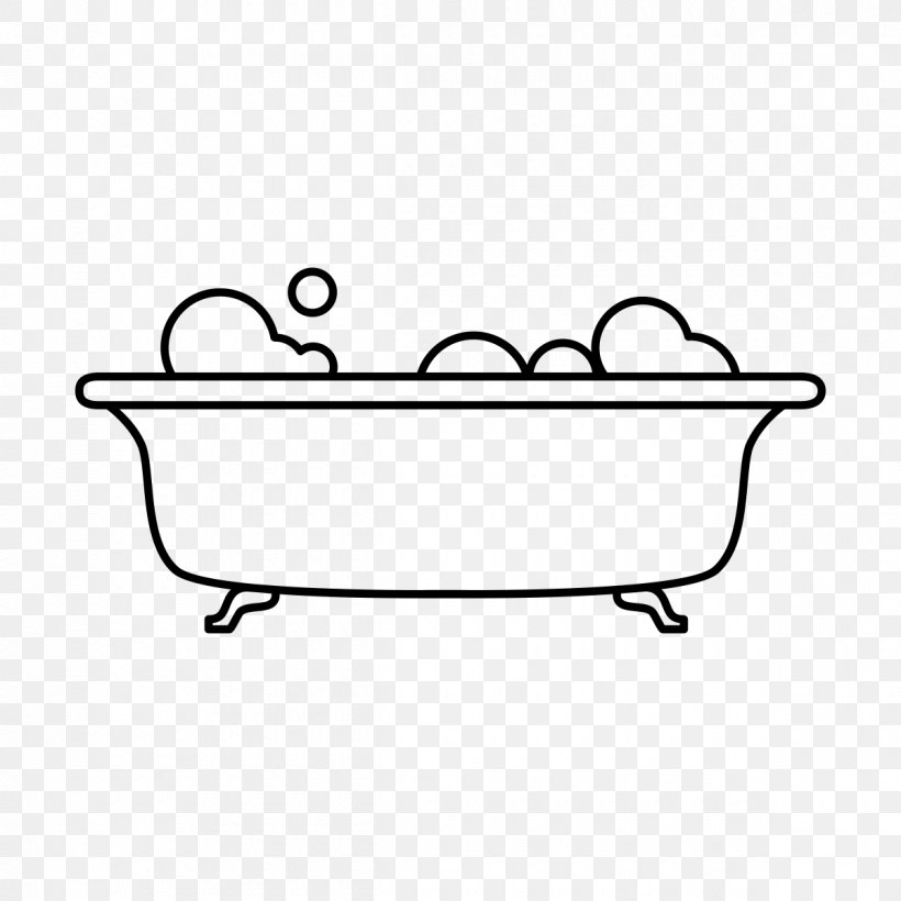 Bathtub Drawing Bathroom Sponge Line Art Png 1200x1200px