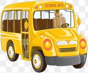 School Bus Clip Art Image - School Bus Van Clip Art PNG