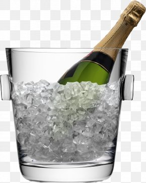 Champagne - Champagne Glass Wine Bucket PNG