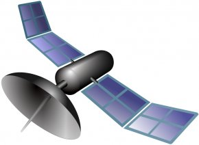 Free Scenic Pictures - GPS Satellite Blocks Clip Art PNG