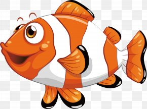 Striped Clown Fish - Royalty-free Fish Clip Art PNG