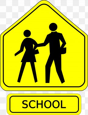 Diner Sign Cliparts - School Zone Traffic Sign Clip Art PNG