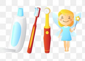 Toothbrush And Toothpaste - Electric Toothbrush Toothpaste Gums PNG