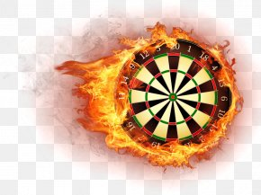 Flame Dart Board - Premier League Darts World Grand Prix Cornhole Tournament PNG