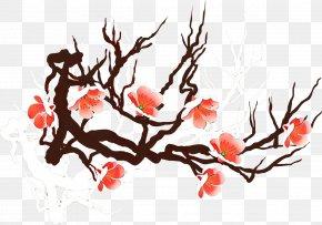 Plant Stem Cherry Blossom - Cherry Blossom PNG