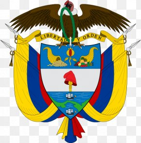 Symbol - Coat Of Arms Of Colombia United States Of Colombia National Symbols Of Colombia PNG
