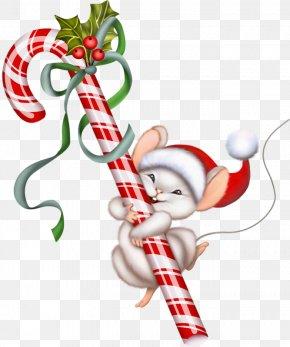 Lollipop - Candy Cane Lollipop Christmas Clip Art PNG