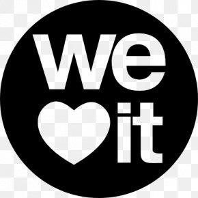 Social Media - Logo Social Media We Heart It Clip Art PNG