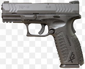 Brown Frame - Springfield Armory XDM .45 ACP Firearm Gun Barrel PNG