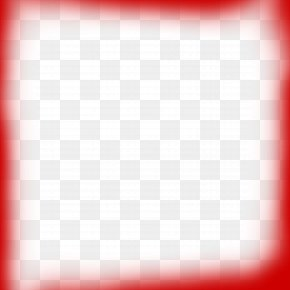 Red Frame Border Restrained - Picture Frame PNG