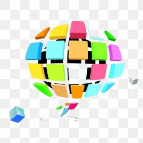 Three-dimensional Jigsaw Puzzle Business Background Material Dialog - Euclidean Vector Disease Clip Art PNG