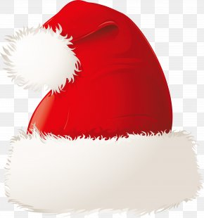 Exquisite Christmas Hat Design - Santa Claus Christmas Hat Bonnet PNG