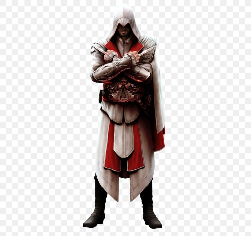 Assassin's Creed: Brotherhood Assassin's Creed III Assassin's Creed: Revelations Assassin's Creed: Ezio Trilogy, PNG, 328x773px, Ezio Auditore, Actionadventure Game, Armour, Assassins, Costume Download Free