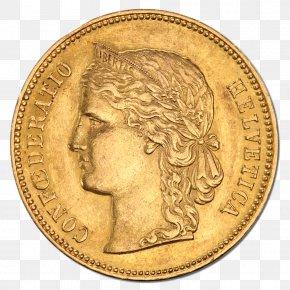 Coin Image - Gold Coin Franc Napoléon Sovereign PNG
