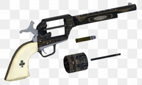Weapon - Trigger Fallout: New Vegas Revolver Firearm .357 Magnum PNG