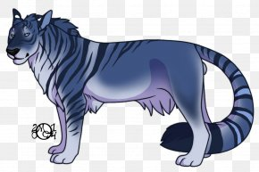 Tiger - Whiskers Tiger Lion Cat Dog PNG