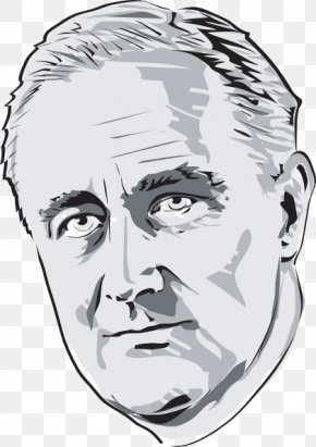 Roosevelt Cliparts - President Of The United States Infamy Speech Clip Art PNG