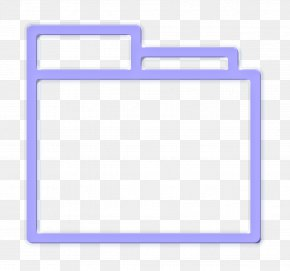 Rectangle Ui Icon - App Icon Essential Icon Folder Icon PNG