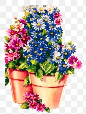 Flower Pot - Flowerpot Common Daisy Clip Art PNG