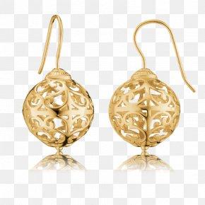 Dreamcatcher Wedding - Earring Pandora Gold Charm Bracelet Silver PNG