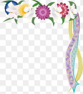 Headband Hair Accessory - Flowers Background PNG