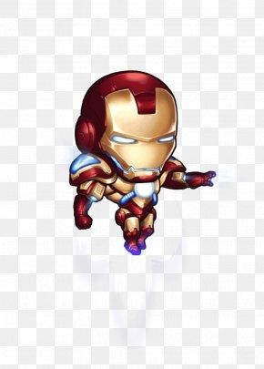 The Iron Man Standing - The Iron Man Hulk Cartoon PNG