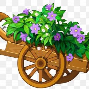 Flower Garden - Flower Garden Clip Art PNG